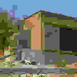 Casa Sotomayor Casas modernas de homify Moderno Tableros de virutas orientadas