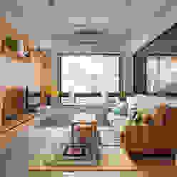 客廳 by 一葉藍朵設計家飾所 A Lentil Design Scandinavian