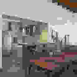 Casa FUNES Prece Arquitectura Comedores modernos