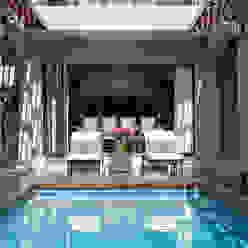 Pool Deck Area:  Pool by Tru Interiors,
