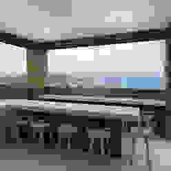 Varandas, alpendres e terraços modernos por TAMEN arquitectura Moderno