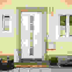 Fenster & Haustüren aus Kunststoff und Aluminium in Ottensheim montiert von Fenster-Schmidinger Schmidinger Wintergärten, Fenster & Verglasungen Moderne Fenster & Türen Aluminium/Zink Weiß
