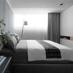 Modern Bedroom by 樸暘室內裝修有限公司 Modern