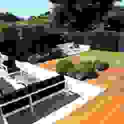Outdoor Room Modern garden by Borrowed Space Modern