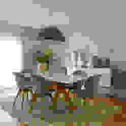 Sala | Depois Salas de jantar modernas por MUDA Home Design Moderno