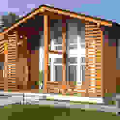 Mild Haus Scandinavian style houses Solid Wood Beige