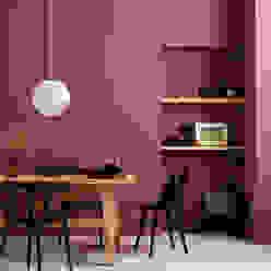 SCHÖNER WOHNEN-FARBE Modern Dining Room Red