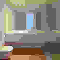 Casa Maternidade Casas de banho minimalistas por Pablo Pita Architects Minimalista