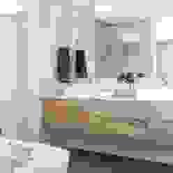Main en-suite Modern bathroom by Salomé Knijnenburg Interiors Modern