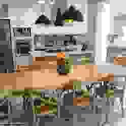 Cozinha Gourmet Vila Mariana Angelica Hoffmann Arquitetura e Interiores Cozinhas modernas