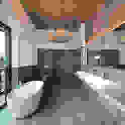 Loft-Bad Ausgefallene Badezimmer von Hauser - Architektur Ausgefallen