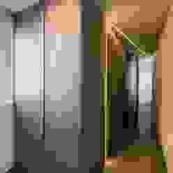 Giardino D'inverno marco tassiello architetto Ingresso, Corridoio & Scale in stile moderno