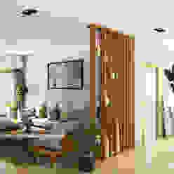 3D VISUALIZATION Scandinavian style living room by FREELANCE Scandinavian Bricks