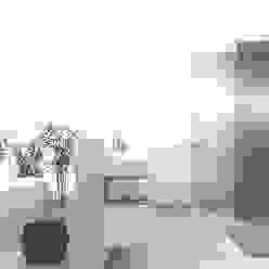 Modernes Badezimmer 3D Moderne Badezimmer von wohnly Modern Bambus Grün