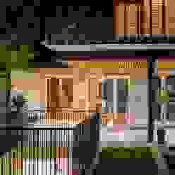 vista 3 niveles de ampliación Casas estilo moderno: ideas, arquitectura e imágenes de Thomas Löwenstein arquitecto Moderno Vidrio