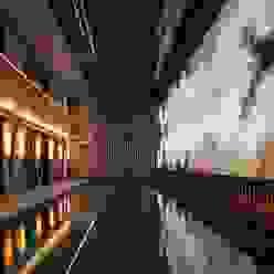 Moreno Licht mit Effekt - Lichtplaner Hotéis mediterrânicos Ferro/Aço