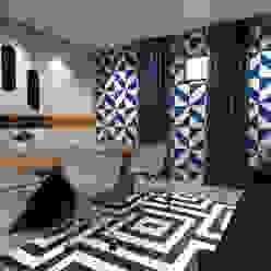 Private House Tiago Martins - 3D Escritórios modernos