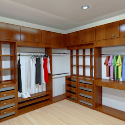 Renders Interiores CouturierStudio Vestidores modernos