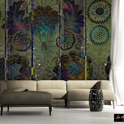 Secret Garden Wallpaper Collection by La Aurelia Art & Walls di La Aurelia Rurale