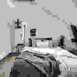 37 mq intelligenti Design for Love Camera da letto in stile scandinavo