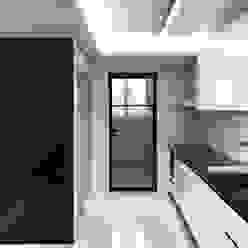 Modern Kitchen by 오락디자인 Modern Metal