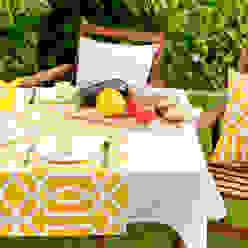Primrose Yellow: modern  von Dekoria GmbH,Modern Textil Bernstein/Gold