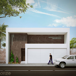 Taller Onze Modern houses White