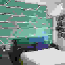 Camera da letto matrimoniale HORA Camera da letto moderna Blu