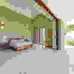 Casa La Siria toroposada arquitectos sas Tropical style bedroom