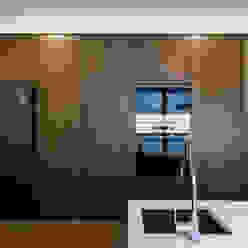 Habitação unifamiliar completa Cozinhas modernas por Grupo HC Moderno