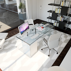 Moradia - Gerês , Portugal MyWay design Escritórios modernos