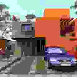 Casas  por Protocolo Ingeniería & Arquitectura , Moderno