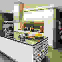 Residential House in Porto INAIN Interior Design Modern Kitchen