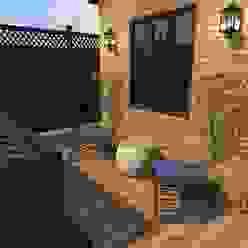 Sector de lectura y relajación Jardines clásicos de Diseño de Locales Clásico