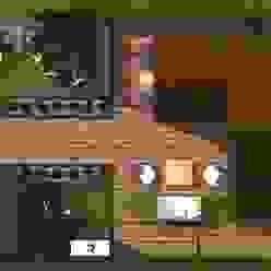 Planta del proyecto Jardines clásicos de Diseño de Locales Clásico