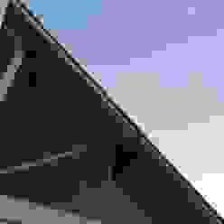 A+R arquitetura Casas unifamiliares Vidrio Rojo