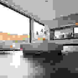 Bauer Arquitectos Modern living room