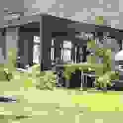 David y Letelier Estudio de Arquitectura Ltda. Rustic style houses