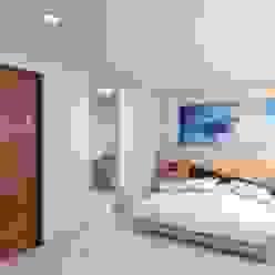 Habitación principal Taller Veinte Dormitorios minimalistas