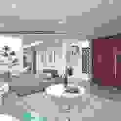Sala-Comedor y Escaleras Taller Veinte Salones minimalistas