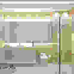 Larissa Reis Arquitetura Bagno moderno