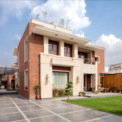 Aggarwal Residence groupDCA Modern houses