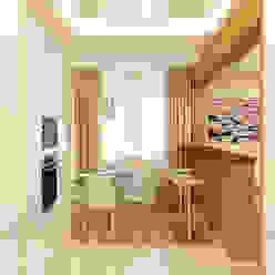 Квартира Попова 33А Кухня в стиле модерн от Дизайн Студия 33 Модерн