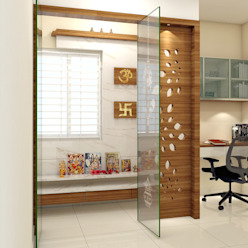 shree lalitha consultants Study/office Plywood Brown