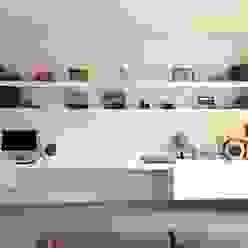 Libreria Claudia Trevisan Architetto Soggiorno moderno