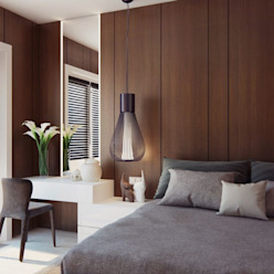 Apartment Design CONCEPTIONS Modern style bedroom