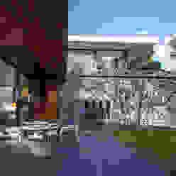 Terraza Jardín homify Balcones y terrazas modernos Granito Multicolor