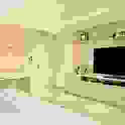Quarto de casal clean Quartos modernos por Marcelo Minuscoli - Projetos Personalizados Moderno