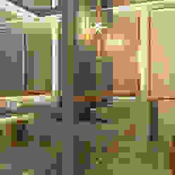 Luxury master bathroom design projects in modern style Spazio Interior Decoration LLC Modern bathroom Marble Beige