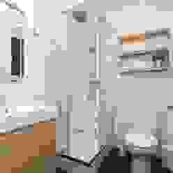 REFORMA Baños de estilo moderno de Masquepintura Moderno Azulejos